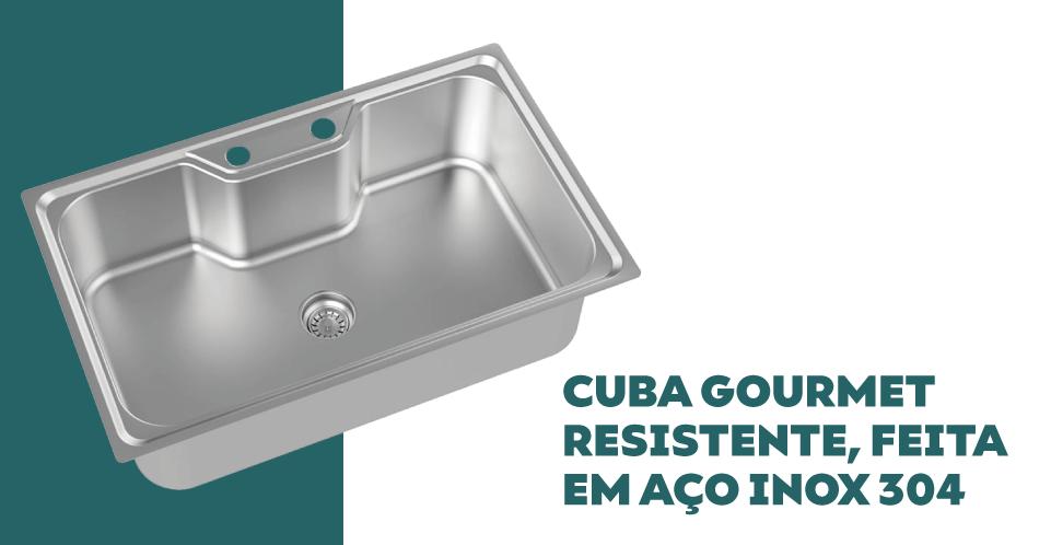 Cuba Debacco Funzionale 235 com Acessórios e Furação