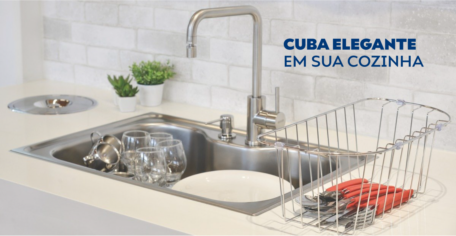 Cuba elegante em sua cozinha