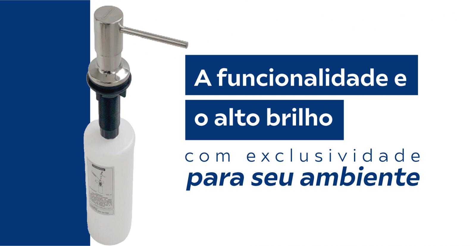 Dosador de Detergente Tramontina Alto Brilho 500ml Original e Exclusivo