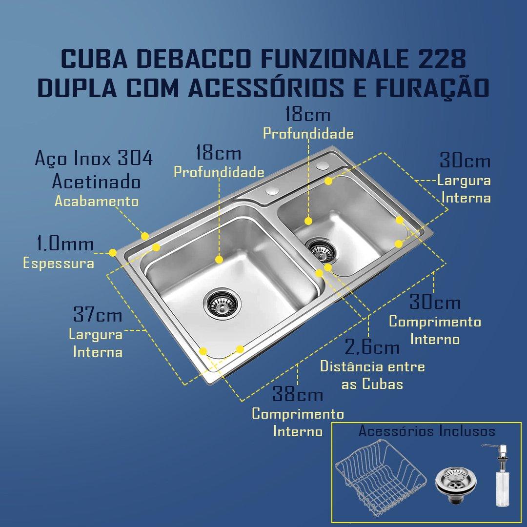 Medidas Cuba Debacco Funzionale 228