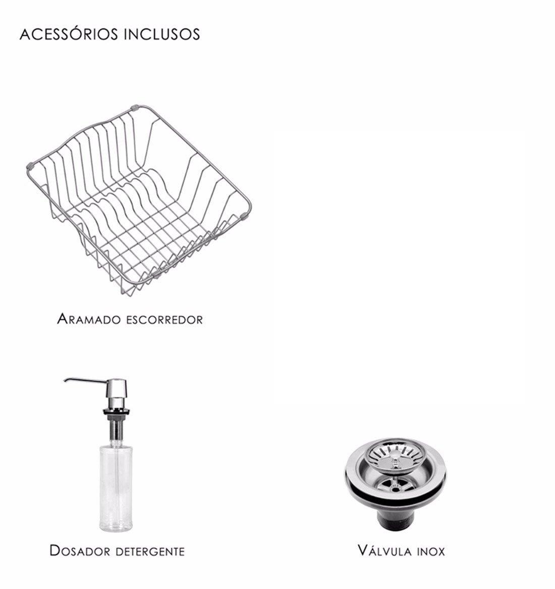 Cuba Debacco Funzionale 228 Dupla Com Acessórios e furação