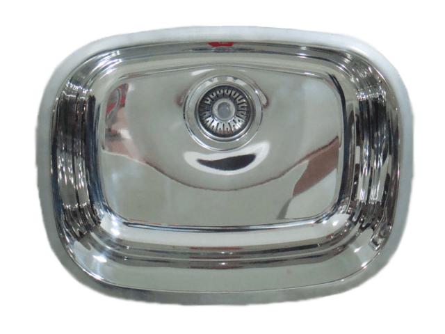 Cuba Franke Essenza 46x34x15cm alto brilho válvula 3.1/2''