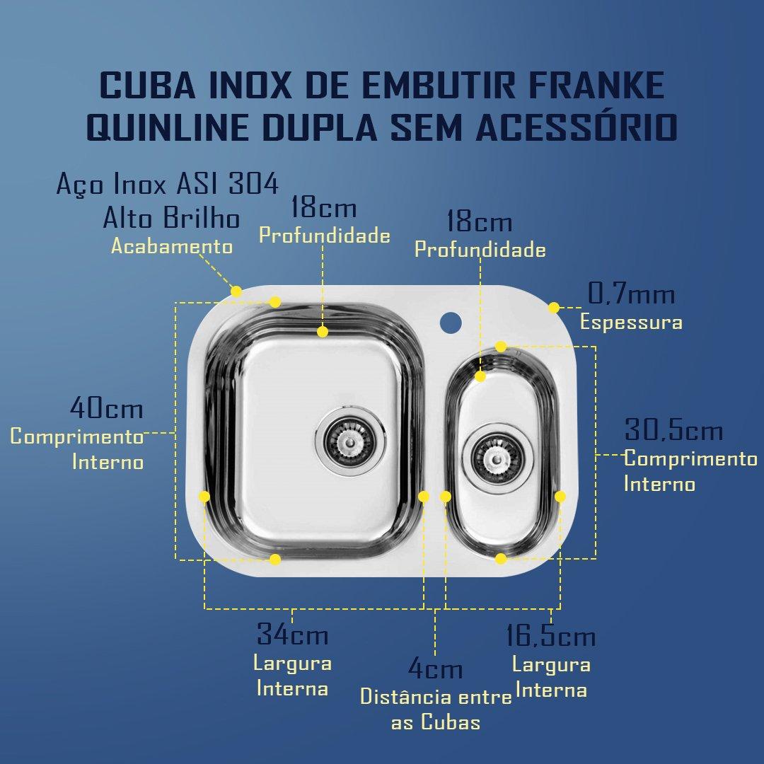 Medidas Cuba Quinline