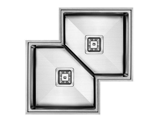 Cuba Inox Sink Workstation Diamond WD 633 ( 69x69x21cm )