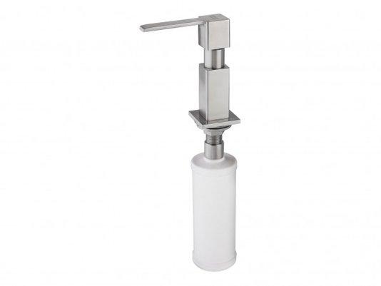 Dosador De Sabão e Detergente Franke Quadrado Inox Fosco
