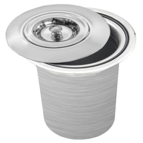 Lixeira Inox PRATICE 5 Litros Para Embutir no Granito