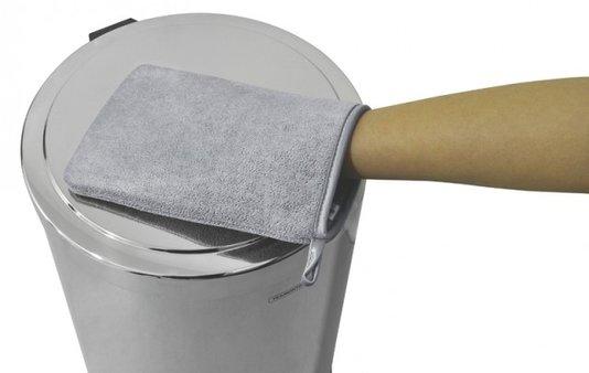 Luva De Microfibra Tramontina Para Limpeza Do Aço Inox