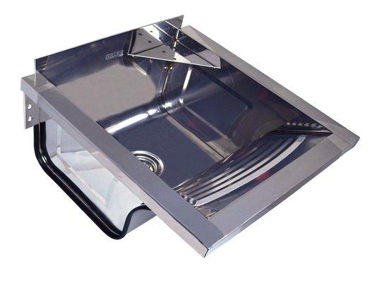 Tanque Inox Franke TS-360 Com Espelho Para Fixar Parede