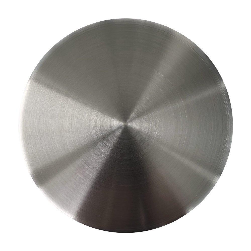 Tampa Para Ralo de Pia Aço Inox Fosco com 4.1/2'' ou 11,5cm