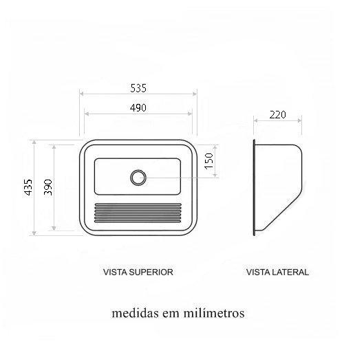 Medidas Tanque Tecnocuba 50x40