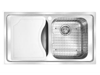 Cuba Inox Dupla Franke Smart SRX 620 Com Acessórios