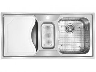 Cuba Inox Tripla Franke Smart SRX 670 Com Acessórios
