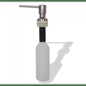 Dosador de Sabão ou Detergente em Aço Inox 300ML Pianox