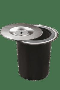 Lixeira Debacco 5 litros Acetinada Para Embutir no Granito