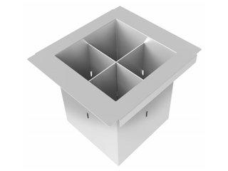 Porta Talheres 15cm Para Canal Organizador Debacco