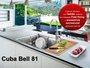 Cuba Inox Sobrepor Franke Bell BCX 610-81 com Acessórios